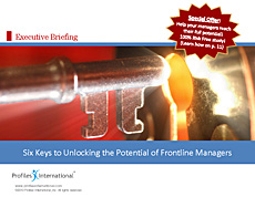 Six Keys to Unlocking the Potential of Frontline Managers